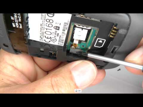 Blackberry Curve 8520 Track Pad Replacement