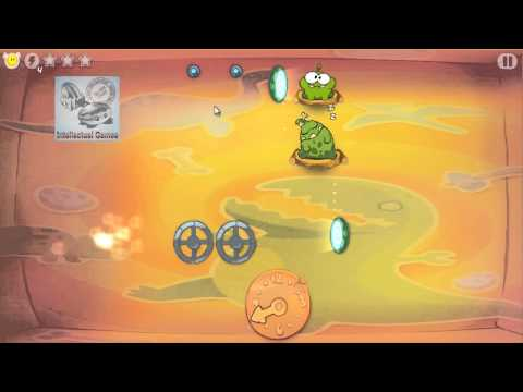Cut The Rope Time Travel SeaSon 6 - Stone Ages Level 6.1-6.15