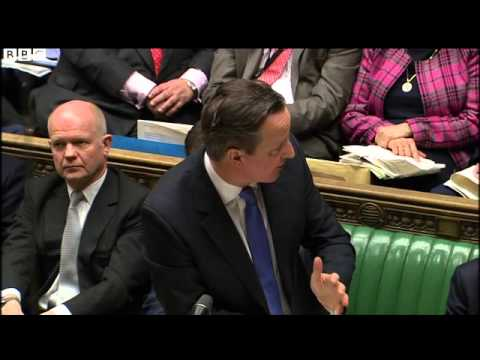 PMQs  Cameron announces free train wi fi from 2017