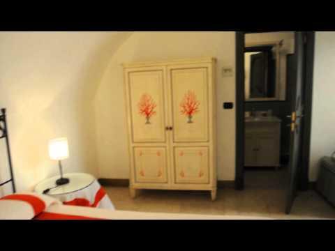 My room at Relais Corte Palmieir in Gallipoli