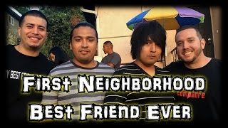 ABM Vlog: Finally Meeting My First Neighborhood Good Friend Ever !!