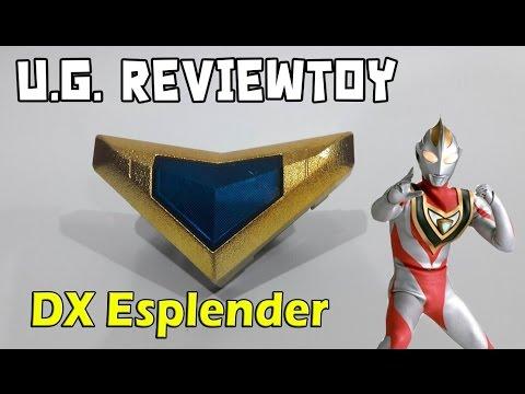 รีวิวที่แปลงร่างอุลตร้าแมนไกอา DX Esplender (U.G.Reviewtoy)