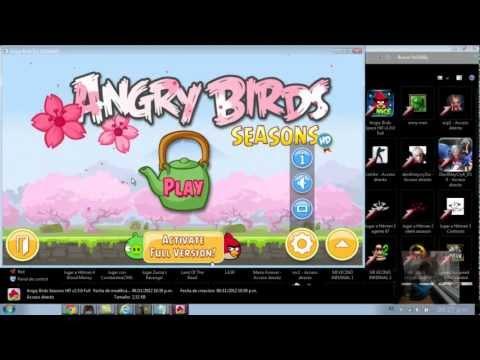 angry birds full español + bag piggies!!!