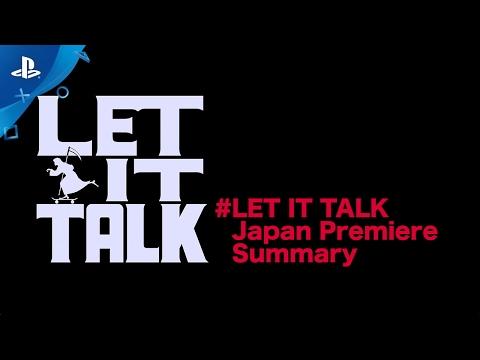 LET IT DIE - LET IT TALK Japan Premier Summary | PS4