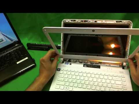 Sony Vaio VPCEG Laptop Screen Replacement Procedure