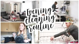 EVENING CLEANING ROUTINE - MUM OF TWO