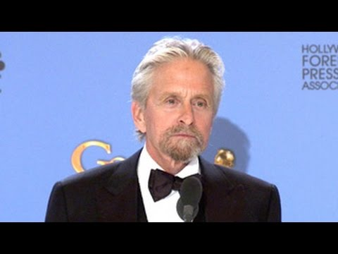 Michael Douglas: 71st Golden Globes Awards Winner's Press Room