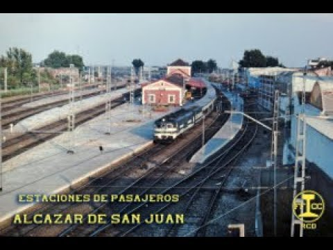Estación Alcázar de San Juan.  Ambientes clásicos ferroviarios años 80 90