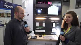 zoOZ - New Z-Wave S2 Smart Switch and Double Plug - Interview - CES 2019 - Poc Network