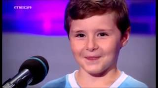 """Talentet shqiptare. Greqi, Edmondi në """"The Music School"""""""