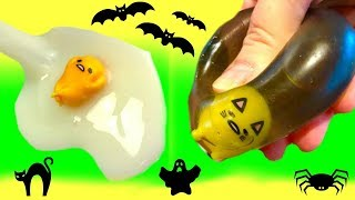 Fizzy and Phoebe Play the Halloween Gudetama Disk Drop Game