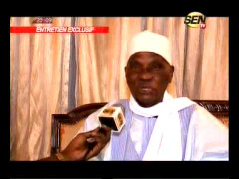 enrtretient exclusif avec Me Abdoulaye Wade