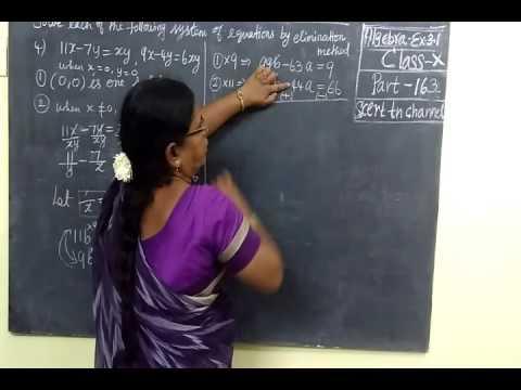 Download Lagu TN SB 10th Maths Part 163 Algebra Ex 3 1 Sum 4 MP3 Free