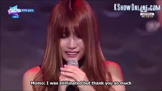 JYP Sixteen Final Momo 모모 EN sub 트와이스