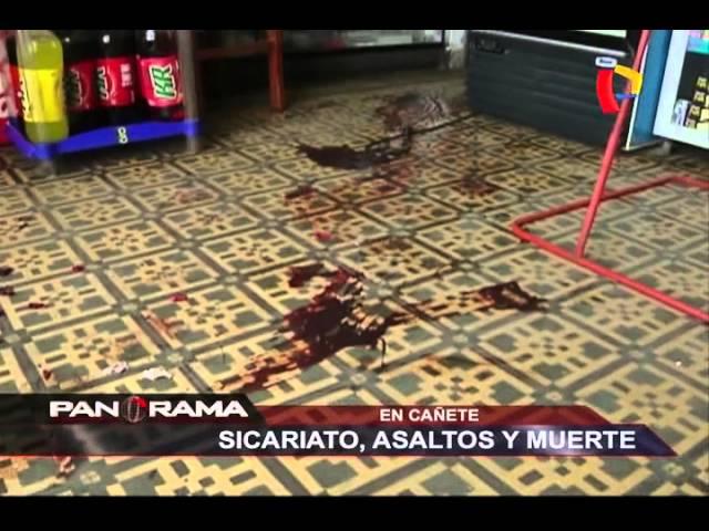 Sicariato, asaltos y muerte en Cañete: inseguridad que cobró la vida de un periodista