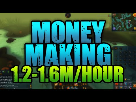 RuneScape: Money Making Guide – 1.2/1.6M Per Hour! [Low Requirements!]