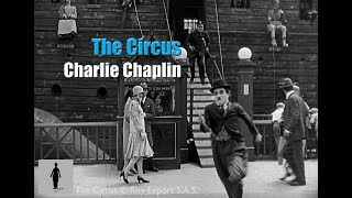 Charlie Chaplin - Chased by a policeman (The Circus)