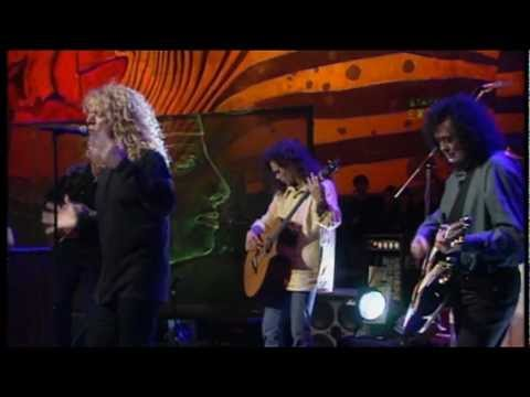 Robert Plant & Jimmy Page 'Gallows Pole' - Jools Holland Show 1994 BBC