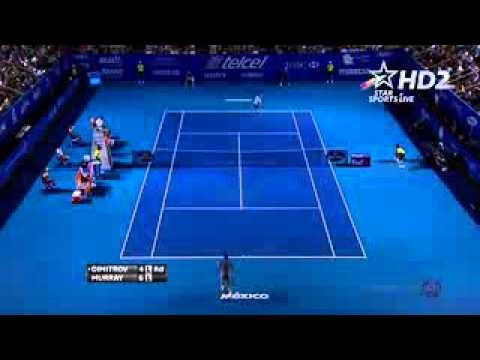 Godly point Dimitrov VS Murray ATP Acapulco Open 2014 Semifinals