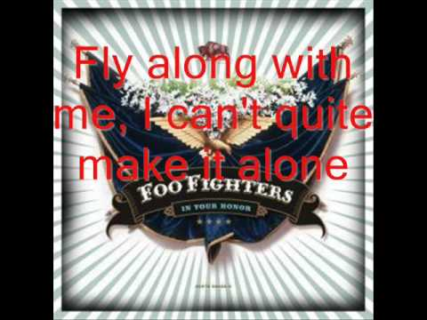 Learn to fly foo fighters lyrics youtube music