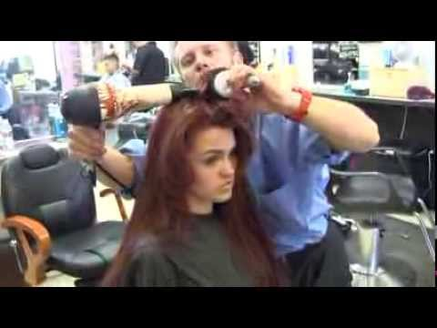 Womens clipper haircut /Star's Sexy Little Mermaid Hair Color Style
