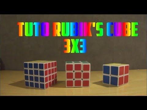 comment résoudre le rubik's cube 3x3 (très facile)