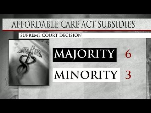 Special Report: Supreme Court upholds major Obamacare component