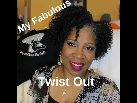 My Fabulous Twist Out ~ Using Entwine Products