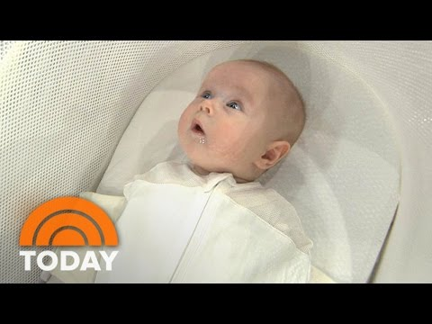 New Tech For Baby Care: Smart Sleeper. Self-Installing Car Seat   TODAY