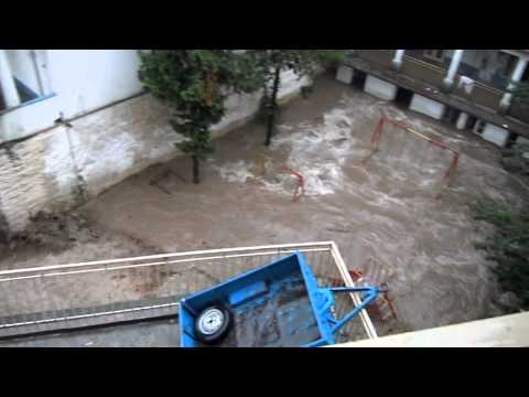 Pakistan Bahrain, Swat Flood 2010.mov video