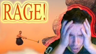Getting Over it Fail Compilation! Ups and downs!