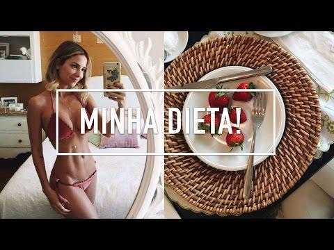 DIETA! - Minha Rotina Alimentar