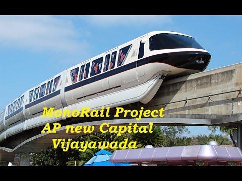 Vijayawada MonoRail Project Visualization by Element Student Metro AP city