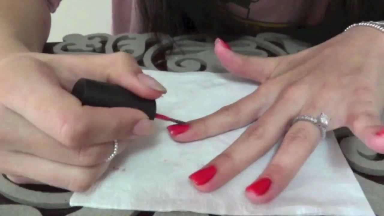 Tutorial como pintar as unhas sem sujar o dedo youtube - Unas modelos para pintar ...