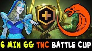 6 min GG — TNC plays Battle Cup