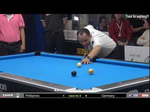 Efren Bata Reyes 2018!!! Top 15 Amazing and Highlight Shots