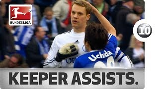 Top 10 Goalkeeper Assists