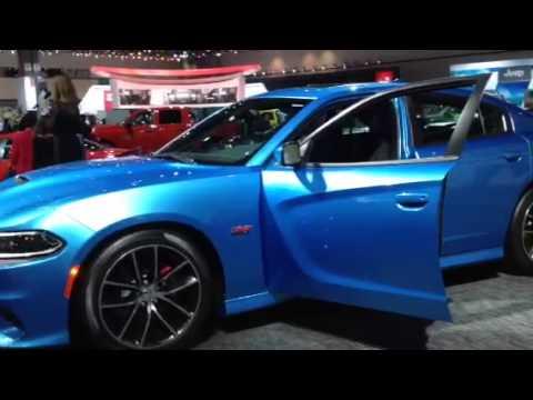 2015 Dodge Charger Scat Pack At La Auto Show video