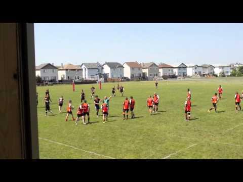 Calgary Hornets U18s V Okotoks July 2014