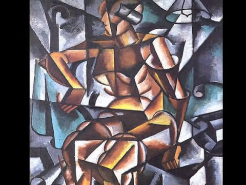 Liubov Popova - BACH. Preludio de cello suite Nº1