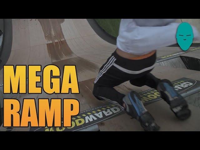 The Human Mega Ramp | Damien Walters