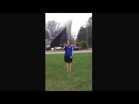 Mosinee high school colorguard Moves