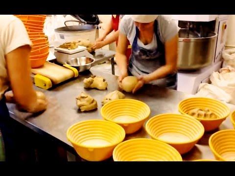 Пекарня Верещагино  ✅ Солодовый хлеб на закваске ✅ Формовка теста.
