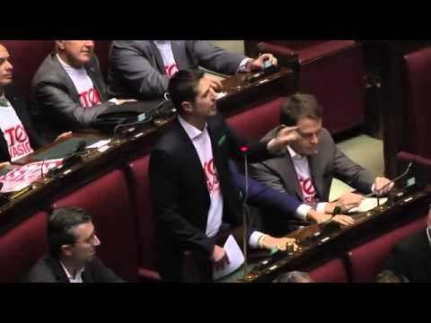 STOPINVASIONE- NICOLA MOLTENI - Mare Nostrum la Boldrini insulta i deputati della Lega