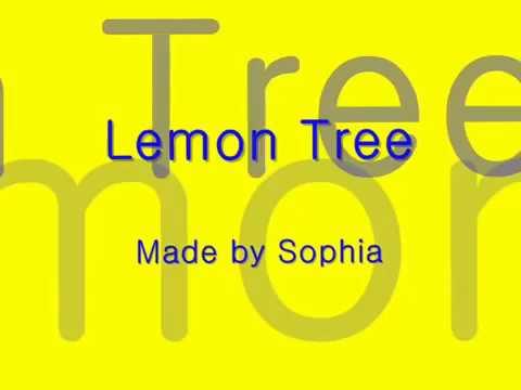 Lemon Tree B video
