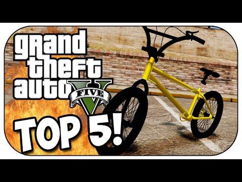 Top 5 BMX STUNTS in GTA 5!