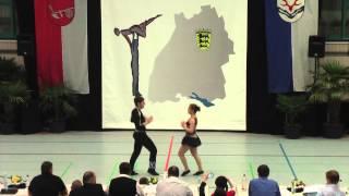 Sandra Friess & Timo Tange - LM Baden-Württemberg & Hessen 2015