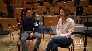 Rsb Solofagottist Sung Kwon You Und Maestra Alondra De La Parra