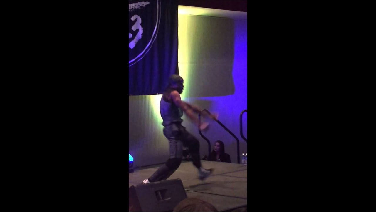 Becky G Male Dancer 101.3 KDWB Jingle Ball Concert Pre-Party 12.08 ...