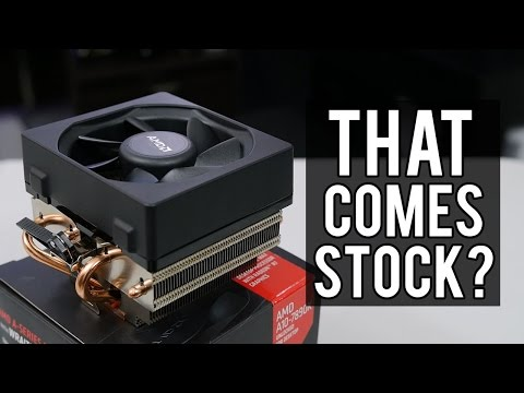 AMD's New WRAITH Cooler VS. Old Stock Cooler